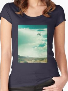 Ride - Monologue Women's Fitted Scoop T-Shirt