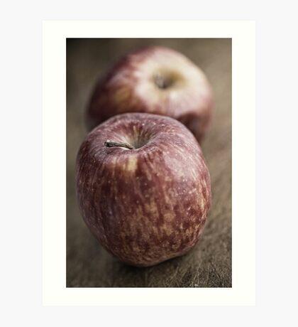Apples still life. Art Print