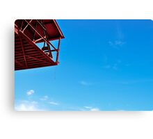 Unobstructed view Canvas Print
