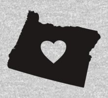 I Love Oregon by USAswagg2