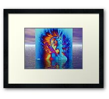 Picture of you Framed Print