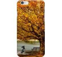 Golden maple warm me up  iPhone Case/Skin