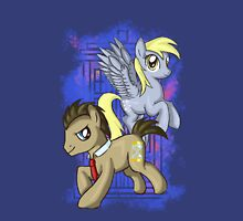 Dr Whooves and Derpy Unisex T-Shirt