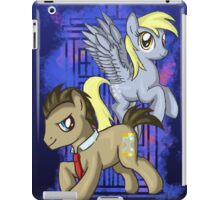 Dr Whooves and Derpy iPad Case/Skin