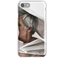 SELF PORTRAIT WITH PAPER iPhone Case/Skin