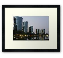Oracle Headquarters in Redwood City Framed Print