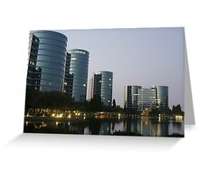 Oracle Headquarters in Redwood City Greeting Card