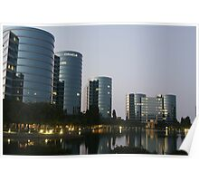 Oracle Headquarters in Redwood City Poster