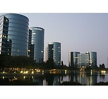 Oracle Headquarters in Redwood City Photographic Print