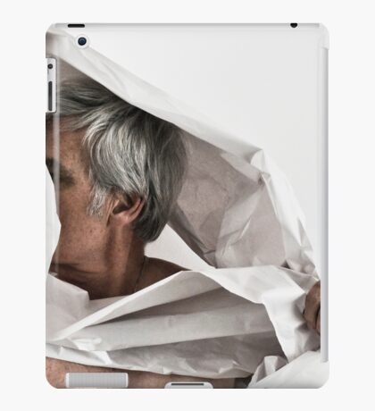 SELF PORTRAIT WITH PAPER iPad Case/Skin