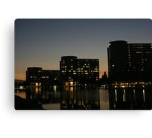 Oracle Headquarters at night Canvas Print