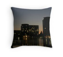 Oracle Headquarters at night Throw Pillow