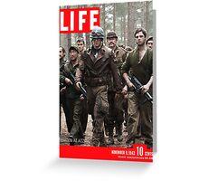 Captain America Life Magazine 2 Greeting Card