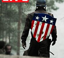 Captain America Life Magazine 1 by semisweetshanno