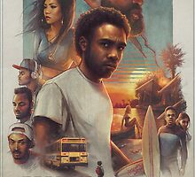 Because the Internet Poster Childish Gambino by kashkhan7
