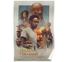 Because the Internet Poster Childish Gambino Poster