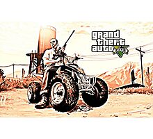 GTA V Photographic Print