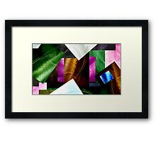 ABSTRACT MESH AMALGAM, No.1, Edit E Framed Print