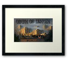 Origin Of Janken Framed Print