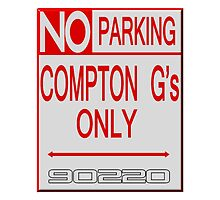 Compton Gs Parking by lawrencebaird