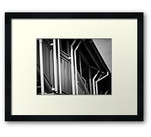Kettering Station over pass from Kettrin'Kollection  Framed Print