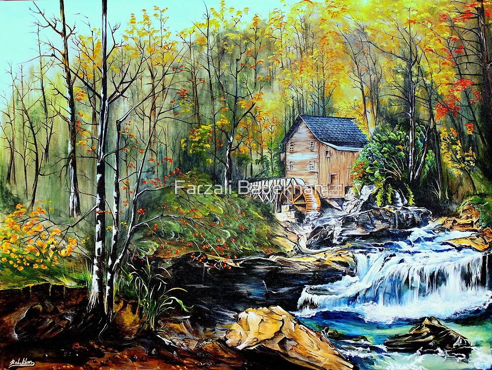 The Creek by Farzali Babekhan