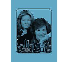 Kate & Allie (portrait) Photographic Print