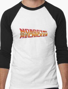 Back to the Future - Nobody Calls Me Chicken Men's Baseball ¾ T-Shirt
