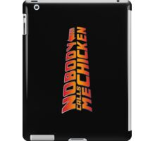 Back to the Future - Nobody Calls Me Chicken iPad Case/Skin