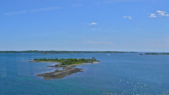 Rose Island from the RIPTA Bus - 2010 by Jack McCabe
