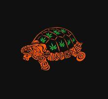 Turtle with Marijuana Leaves T-Shirt