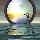 The Gate by Sandra Bauser Digital Art