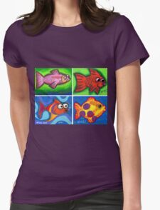 'Java Fish' Womens Fitted T-Shirt