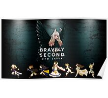 Bravely Second!! End Layer (Black Fairy Edition) Poster