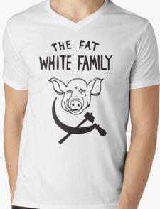 Fat white family Mens V-Neck T-Shirt