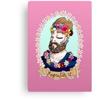 Bahorel's Magnificent Beard Canvas Print