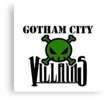 Gotham City Villians Canvas Print