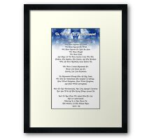 In Want Of Achievement Framed Print