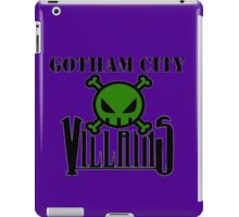Gotham City Villians iPad Case/Skin