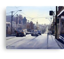 Early Morning Bridge Street, Melbourne Canvas Print