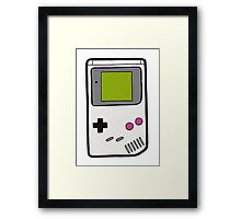 Retro Game Boy Framed Print