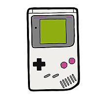 Retro Game Boy Photographic Print