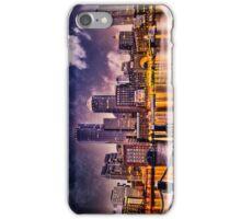 Skyline of Boston Harbor  iPhone Case/Skin