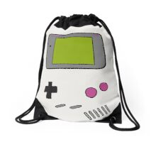Retro Game Boy Drawstring Bag
