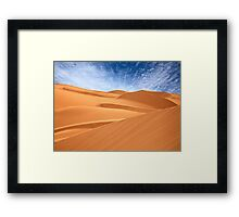 Royal Dune Park, California Framed Print