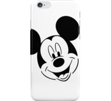Mickey Mouse Head Design iPhone Case/Skin