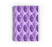 Portable Purple Spiral Notebook