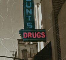 Counting Drugs Sticker