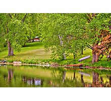 Lake above Crawfish Dam Photographic Print