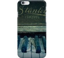 Stanley Piano iPhone Case/Skin